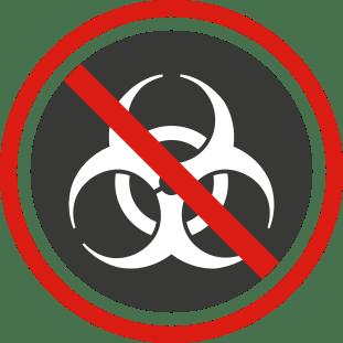No Hazardous Material Icon